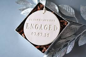30 newly engaged just married ornaments the