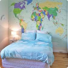 map mural buy removable wall mural map design