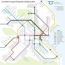 London Metro Map by London Tube Style Map Shows How Dublin Public Transport Will Link Up