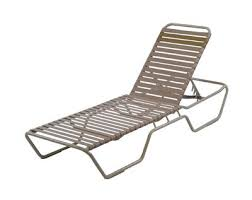 Patio Furniture Chaise Lounge Commercial Furniture Usa Premium Vinyl Strap Aluminum Pool