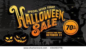 Halloween Sale Halloween Sale Vector Illustration Stock Vector 494093776