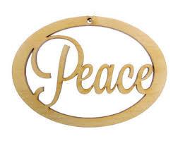peace ornament etsy