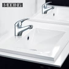 moding high demand push down bathroom wash sink basin mixer tap