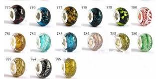murano beads bracelet images Free shipping mixed colours murano glass beads fit european charm jpg