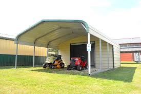 Garage With Carport Carports Garages Storage U0026 Lean To