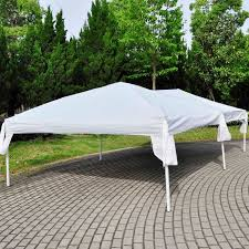 how many tables fit under a 10x20 tent x 20 easy pop up party tent with side walls
