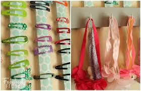 hair accessories organizer diy hair accessory organizer fabulessly frugal