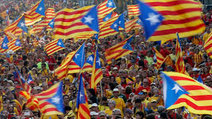 scene set for ugly confrontation ahead of catalonia independence vote