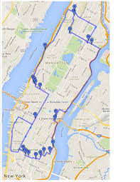 manhattan on map manhattan eruv
