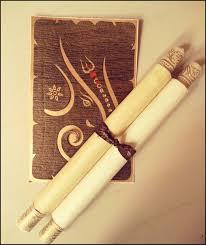 Scroll Invitations Diy Vintage Scroll Wedding Invitation 12 Steps