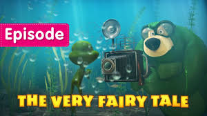 masha bear fairy tale episode 54 cartoon