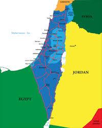 Jordan River Map Jordan Israel Peace Treaty And American Diplomacy U2013 Mountain View
