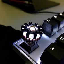 Emperor 1510 Lx Iron Man Arc Reactor Keycap Follow R Mechanicalkeyboards For All