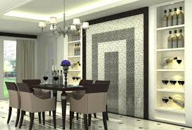 amazing dining room giving accent to the dining room wall with