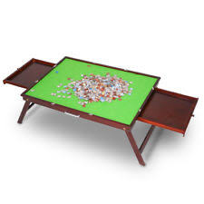 jigsaw puzzle tables portable jigsaw puzzle storage table portable organizer board folding 1000