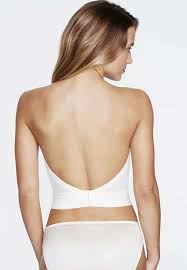 low back bustier