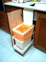 kitchen bin ideas trash can drawer kitchen cabinet trash drawer kitchen garbage can