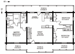 ranch log home floor plans the swan valley log home plan has everything you need on one floor
