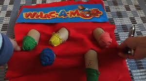 how to make a whac a mole arcade game halloween costume youtube