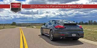 porsche 4 review 2016 porsche panamera 4 in co
