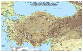 Biblical Map Of The Middle East by Ancient World Mapping Center