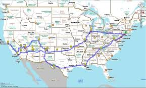 map us highway route 66 which way do we go great american road trip 2010