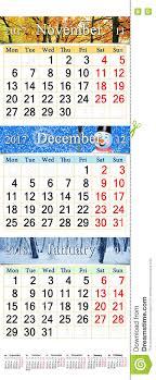 Calendario Diciembre 2018 Calendario Para Noviembre Diciembre De 2017 Y Enero De 2018