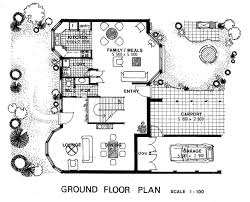 100 housing blueprints floor plans 100 cottage floorplans