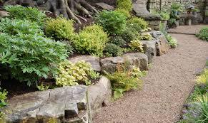 rock garden plans shade garden landscape designhostaastble