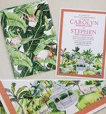 palm tree wedding invitations carolyn c tropical watercolor wedding accessoriesmomental designs
