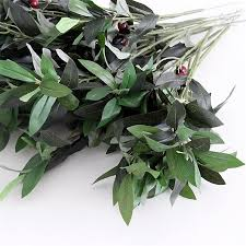 Artificial Plant Decoration Home 2017 2015 Artificial Olive Leaves Branch Artificial Plant