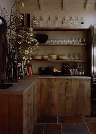 Wooden Kitchen Storage Cabinets Interesting Rustic Wood Storage Cabinets Decoration High Ceiling