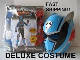 Power Ranger Halloween Costumes Power Ranger Deluxe Halloween Costume Spd Police Captain Boy 4 6