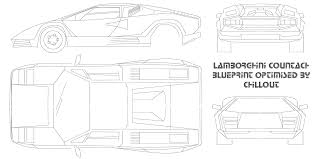 lamborghini car drawing car lamborghini countach the photo thumbnail image of figure