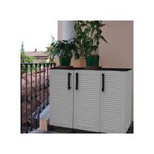 armadietto esterno armadietto in resina antiurto mobiletto a 3 ante per esterno