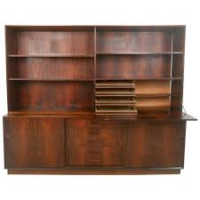 Modern Desk Hutch by Mid Century Modern Danish Rosewood Sideboard With Drop Front Hutch
