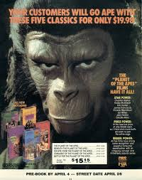 planet of the apes advertisements
