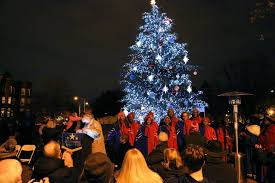 christmas tree lighting near me holiday tree lighting capitol hill bid
