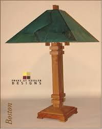 Arts And Crafts Desk Lamp Franz Kessler Lighting