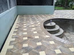 Pool Patio Pavers by Tampa Pool Patio Paver Contractor Cc Brick Pavers