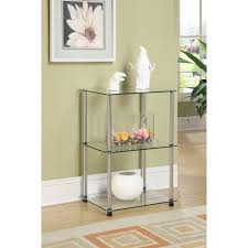Glass Side Tables For Living Room Metal Living Room End Tables