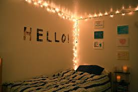bedroom simple christmas lights in decorations and how to hang on
