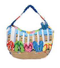 flip flop bag sun n sand coastal flip flops tote bag at swimoutlet