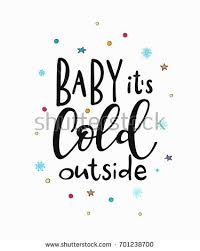 baby cold outside merry happy stock vector 701238700