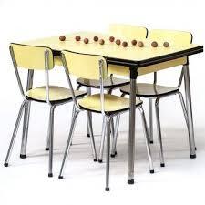 table cuisine retro mobilier cuisine vintage 1 les 25 meilleures id233es concernant