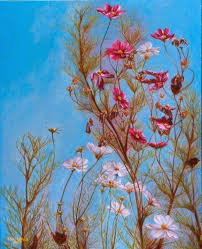 awesome looking flowers woman in the flowers optical illusion http www moillusions com