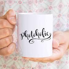photoholic funny photography mug gifts for photographers