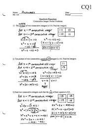 algebra review quadratic functions worksheet 02