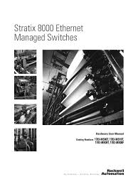 stratix 8000 hardware user manual electrical connector relay