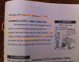 Common Core Meme - common core workbook teaches 2nd amendment pertains only to